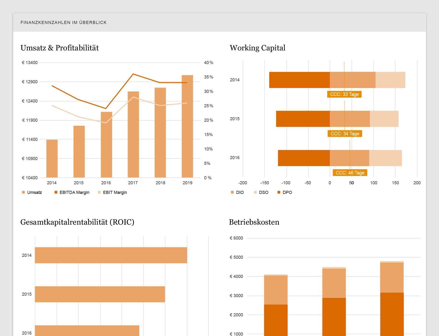 Finanzkennzahlenanalyse